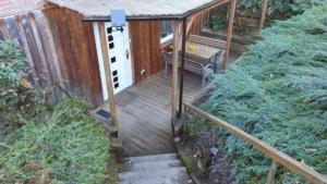 Treppe zum Eingang / Terrasse